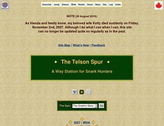 Main page screenshot of snark.org