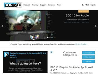 borisfx.com screenshot