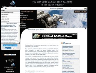Thumbshot of Space-careers.com