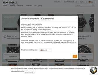 montredo.com screenshot