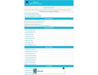 m4livetv.mobie.in screenshot