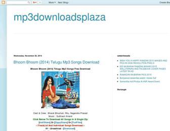 mp3downloadsplaza.blogspot.com screenshot
