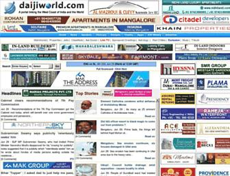 Thumbshot of Daijiworld.com