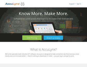 Thumbshot of Acculynx.com