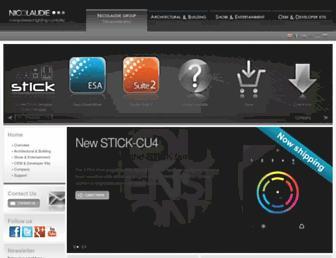 nicolaudie.com screenshot