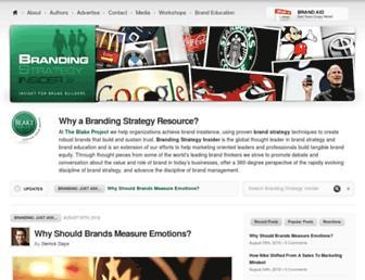 Thumbshot of Brandingstrategyinsider.com