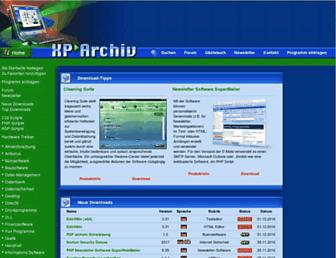 xparchiv.de screenshot