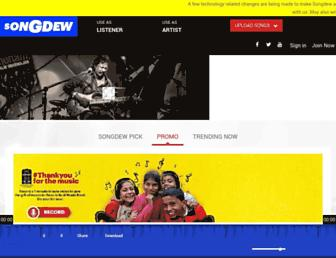 Thumbshot of Songdew.com