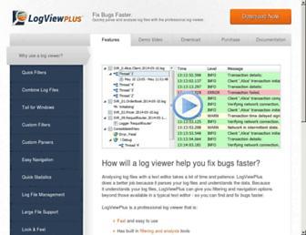 logviewplus.com screenshot