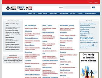 Thumbshot of Addfreewebdirectory.com