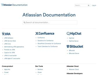 confluence.atlassian.com screenshot