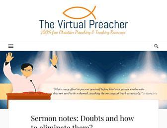 virtualpreacher.org screenshot