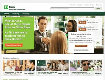 Thumbshot of Tdbank.com