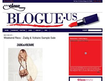 Thumbshot of Blogue.us