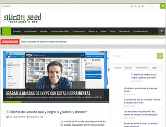 siliseed.com screenshot