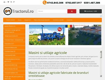 tractorul.ro screenshot
