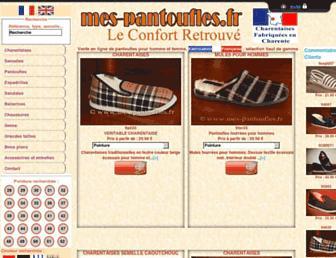 Thumbshot of Mes-pantoufles.fr