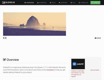 Thumbshot of Slidesjs.com