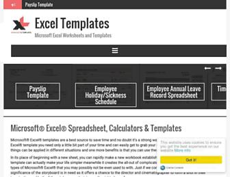 xltemplates.org screenshot