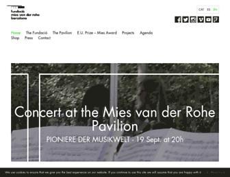 miesbcn.com screenshot