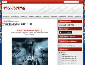 free-testing1.blogspot.com screenshot