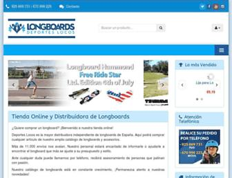 deporteslocos.com screenshot