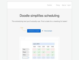 doodle.com screenshot