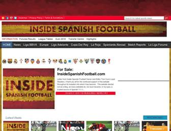 Thumbshot of Insidespanishfootball.com