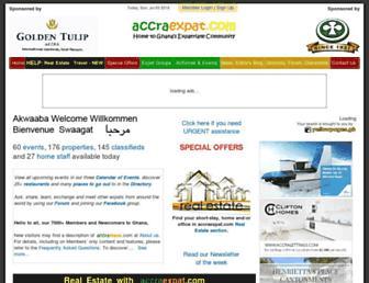 accraexpat.com screenshot
