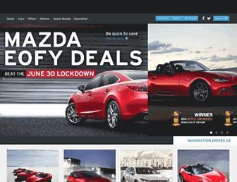 Screenshot for mazda.com.au