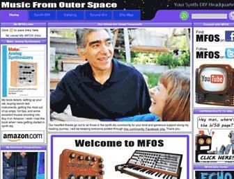 musicfromouterspace.com screenshot