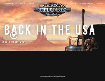 americantrucksimulator.com screenshot