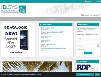idsys.de screenshot