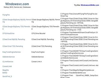 windowsvc.com screenshot
