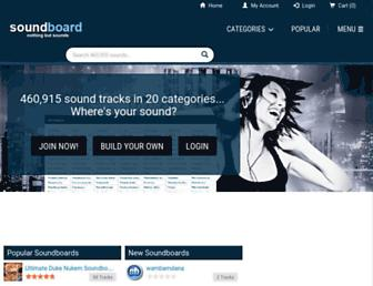 soundboard.com screenshot