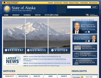 Thumbshot of Alaska.gov