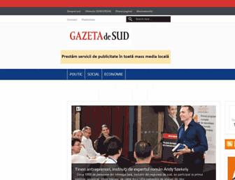 gazetadesud.md screenshot