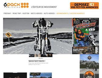 6pack.fr screenshot