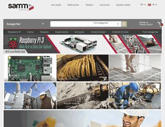 samm.com screenshot