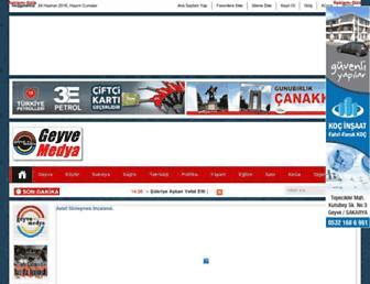 geyvemedya.com screenshot