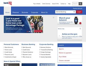 banksa.com.au screenshot