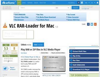 vlc-rar-loader.en.softonic.com screenshot