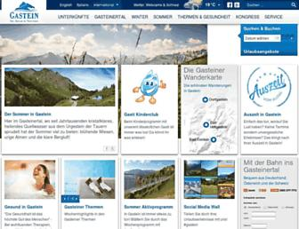 Thumbshot of Gastein.com