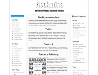 rockmine.com screenshot