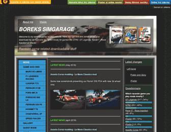 simgarage.nolimit.cz screenshot