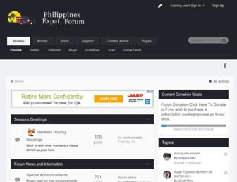 philippines-expats.com screenshot
