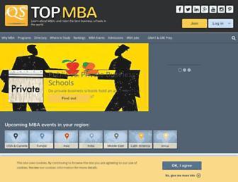 topmba.com screenshot