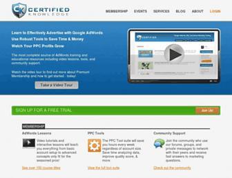Thumbshot of Certifiedknowledge.org