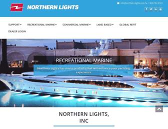 northern-lights.com screenshot