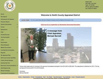 Main page screenshot of smithcad.org